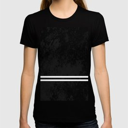 Infinite Road - Black And White Abstract T-shirt