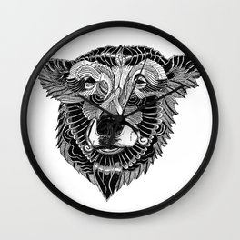 BEAR-HEAD Wall Clock
