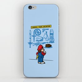 Weapon of Choice iPhone Skin