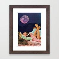 SLUMBER Framed Art Print