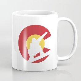 Colorado Snowboard Coffee Mug