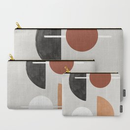 Moon and Sun Abstract Carry-All Pouch