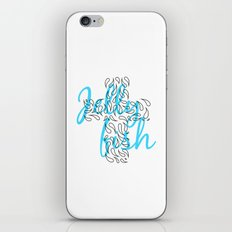 Jellyfish Cross iPhone & iPod Skin