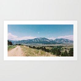 Boulder Trail Art Print