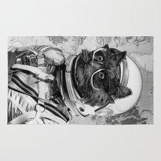 Space Kitten Rug