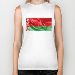 Belarus Flag Biker Tank