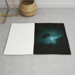 In Time and Space, No One Can hear You Scream Rug