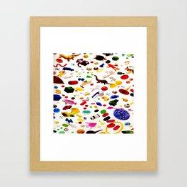 Jumble of Fun Framed Art Print