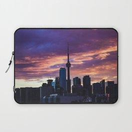 Sunset City Laptop Sleeve