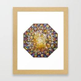 """""""Temporal Energy"""" Framed Art Print"""