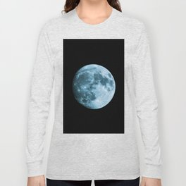 Moon - Space Photography Long Sleeve T-shirt