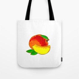 Mango Heart Tote Bag