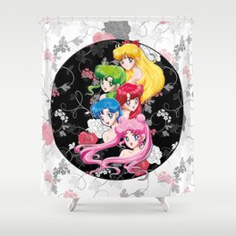 Sailor Senshi - Uncovered (Original Color Edition) Shower Curtain