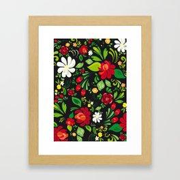 Russian folk Framed Art Print