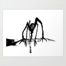 Spineman Art Print