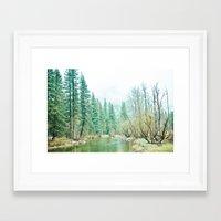 yosemite Framed Art Prints featuring Yosemite by eugenia k. photography