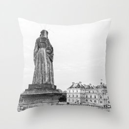 Jardin du Luxembourg, Paris Throw Pillow