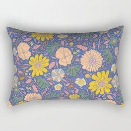 Saint Anthony Park Gardens (in bloom) Rectangular Pillow
