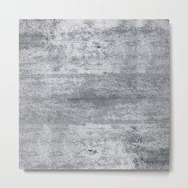 Concrete Metal Print
