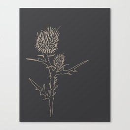 Weeding Out Canvas Print