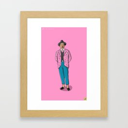 Jose Gregorio Hernandez POP - TrincheraCreativa Framed Art Print