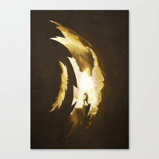 Hunter versus Prey Canvas Print