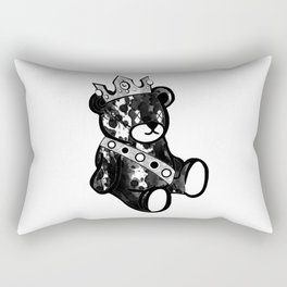Bear King Splash Rectangular Pillow