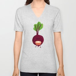 Beet's drum beat Unisex V-Neck