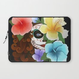 Day of the Hibiscus Laptop Sleeve