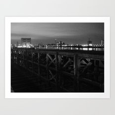 Thames Crossing - Woolwich Ferry Art Print