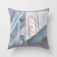 The Door to the Other Side- Vacancy Zine Throw Pillow