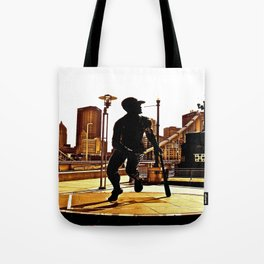 Roberto's Shadow Lives In Roberto's City Tote Bag