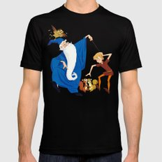 The Sword in the Stone Mens Fitted Tee LARGE Black