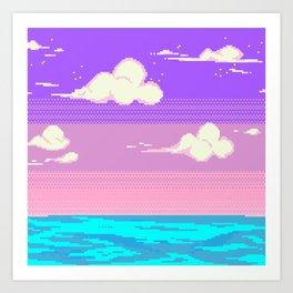 S k y Art Print