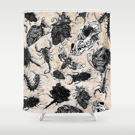 Bones and co 2 Shower Curtain