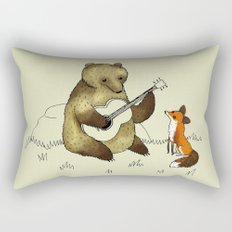Bear & Fox Rectangular Pillow