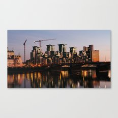 Vauxhall Twilight Canvas Print