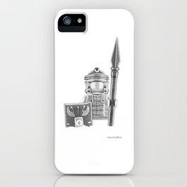 Roman Warrior iPhone Case