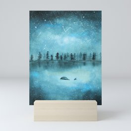 Stars don't judge Mini Art Print