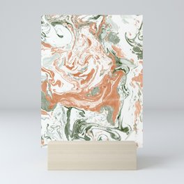 Marble of autumn Mini Art Print