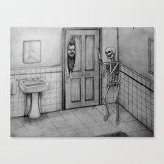 The Skeletal Shining Canvas Print