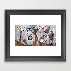 Punto de Coyuntura Framed Art Print
