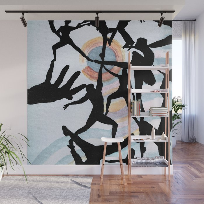 Creating The Dance Wall Mural By Melissajbarrett Society6