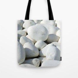 White stones Umhängetasche