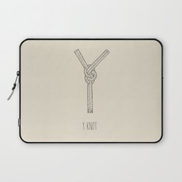 """""""Y"""" Knot Laptop Sleeve"""
