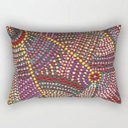 Aboriginal. Rectangular Pillow