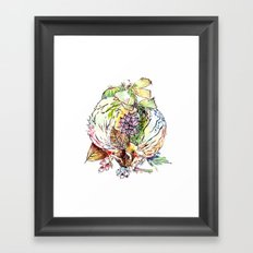 Hedgehog Effect Framed Art Print