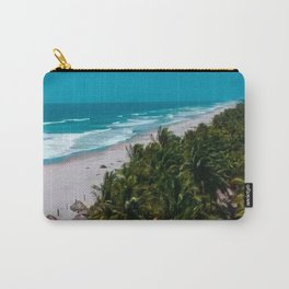 Waves and Palms Carry-All Pouch