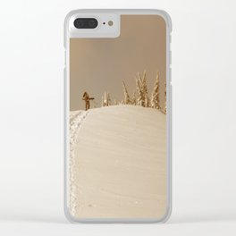 Winter day 5 Clear iPhone Case