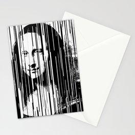 Mona Lisa Barcode Huge Limited Print 2017 Stationery Cards